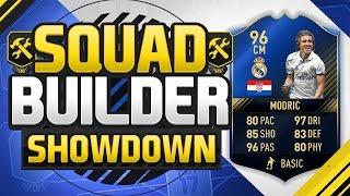 getlinkyoutube.com-FIFA 17 SQUAD BUILDER SHOWDOWN!!! TEAM OF THE YEAR MODRIC!!! The Best Midfielder On Fifa 17!?!