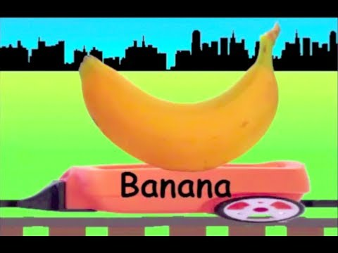 Fruit Train: Learn Fruit Train 2 - learning fruits for kids