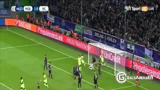 Resumen Borussia M'gladbach (1) - Manchester City (2) Champions League 2015