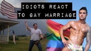 getlinkyoutube.com-IDIOTS REACT TO GAY MARRIAGE