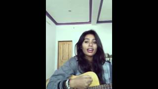 Main Rahoon Ya Na Rahoon guitar cover by monika| A