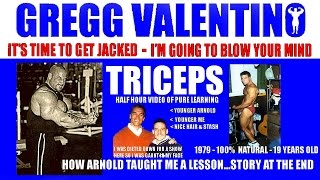 getlinkyoutube.com-Gregg Valentino's  'Get Friggin Jacked'  TRICEPS Training Video