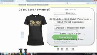 getlinkyoutube.com-Teespring Trouble - When To Buy The Last Shirts To Tip Your Campaign