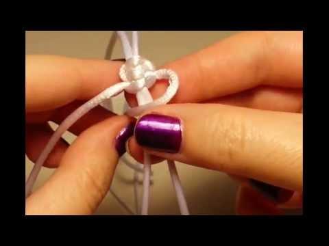 Tutorial: Como hacer nudo corredizo de macramé.