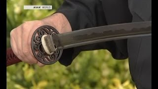getlinkyoutube.com-how its made - katana - Japanese sword كيفية صناعة السيف الياباني