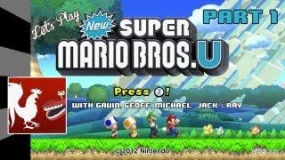 getlinkyoutube.com-Let's Play – New Super Mario Bros. U Part 1