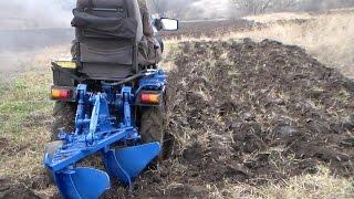 getlinkyoutube.com-Мини трактор. Отчет за два года / Homemade mini tractor