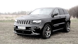 (ENG) Jeep Grand Cherokee SRT - Test Drive and Review