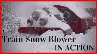 getlinkyoutube.com-Biggest Snowfall vs Train Snowblower (HD, 1080p)