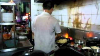 getlinkyoutube.com-WOK Cooking at a Fine Chinese Restaurant Cafe in Jiande City, Xin'anjiang
