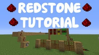 getlinkyoutube.com-Minecraft 1.10: Redstone Tutorial - Simple Horse Gate