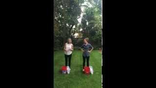getlinkyoutube.com-Zoie Palmer & Rachel McAdams ALS Ice Bucket Challenge