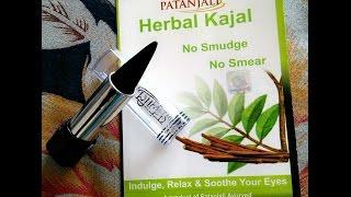 getlinkyoutube.com-Patanjali Herbal Kajal- Demo and Review