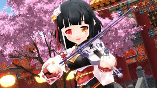 【Elsword-MMD】🌸 Senbonzakura // 千本桜 🌸 (Violin cover by Lindsey Stirling)【Ara】