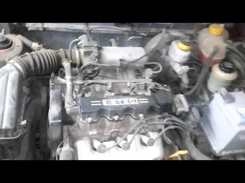 Расположение фильтра двигателя в Дайво Nexia