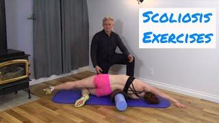 getlinkyoutube.com-Scoliosis Exercises