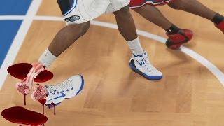 getlinkyoutube.com-BEST NBA ANKLE BREAKERS CHALLENGE! NBA 2k16 & NBA 2k15 Roster! NO BIG MEN! MyTeam Gameplay