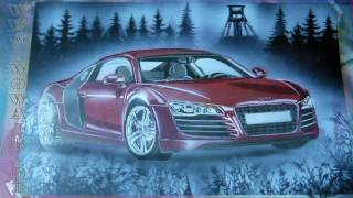 getlinkyoutube.com-No.039  Airbrush by WOW  Audi RS 8 HD 1080.mp4