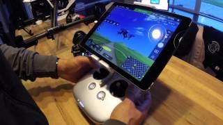 getlinkyoutube.com-DJI Pilot, Inspire 1 Flight Simulator Demo