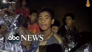 Effort-to-rescue-Thai-soccer-teammates-and-coach-trapped-in-cave-continues width=