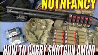 getlinkyoutube.com-Ammo Carry for Tactical Shotgun: Ways That Work