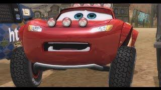 getlinkyoutube.com-Cars Race O Rama Lightning McQueen & Chick Hicks Gameplay][Full HD][German] #07