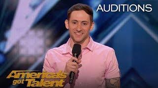 Samuel J. Comroe: Comedian With Tourette Syndrome Impresses Crowd - America's Got Talent 2018 width=