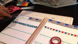 getlinkyoutube.com-Plan with me Erin Condren July 4th