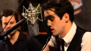 getlinkyoutube.com-Panic! at the Disco (Live Acoustic from the X103.9 Studio)