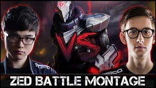 getlinkyoutube.com-Zed Montage [Battle]: Faker vs Bjergsen
