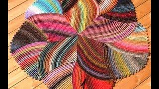 getlinkyoutube.com-Вязаные круглые коврики