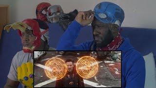 Marvel Studios' Avengers: Infinity War Official Trailer Reaction