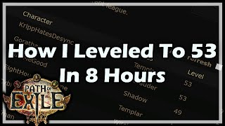getlinkyoutube.com-[Path of Exile] How I Leveled To 53 In 8 Hours
