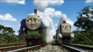 getlinkyoutube.com-Hero Of The Rails: Spencer Chases Thomas And Hiro (With Alternate Music)