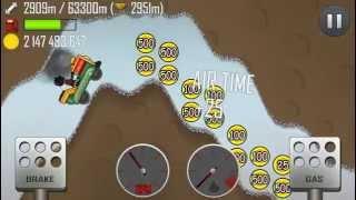 getlinkyoutube.com-Hill Climb Racing - 2976m Kiddie Express in Cave