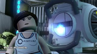 getlinkyoutube.com-LEGO Dimensions - Portal 2 Level Pack Walkthrough (Aperture Science)