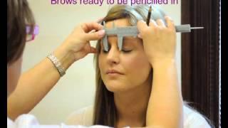 getlinkyoutube.com-HD Eye Brows, Hair by Hair - Permanent makeup tutorial - Natural look - before and after