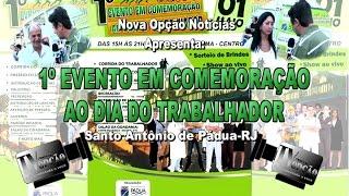 Nova Opção Noticias-1º Evento Comemoração Dia Trabalhador