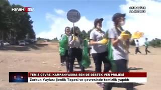 Zorkun'da çevre temizlik kampanyası