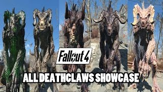 getlinkyoutube.com-Fallout 4 - Deathclaws Showcase (All Variations)