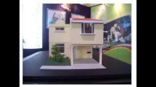 getlinkyoutube.com-MAQUETAS CASAS GUATEMALA / Escale House Model