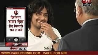 getlinkyoutube.com-Seedhi Baat Sonu Nigam with Prabhu Chawla