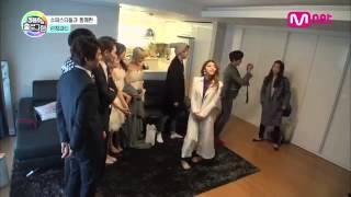 "getlinkyoutube.com-Park Shin Hye visits Jung Yong Hwa on ""Hologram"""