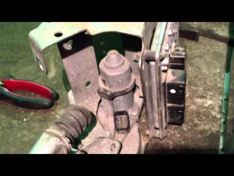 Замена сцепления Пежо 207 (коробка робот)