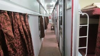 getlinkyoutube.com-Mumbai-New Delhi Rajdhani First AC Interiors.