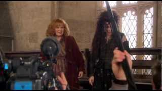 getlinkyoutube.com-Molly Takes Down Bellatrix - The Deathly Hallows: Part 2