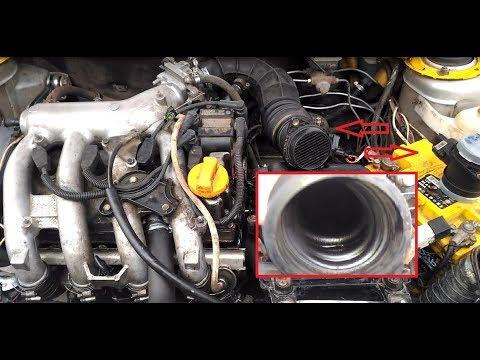 Глохнет двигатель/Плавают обороты/ДМРВ чистка.