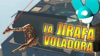 LA JIRAFA VOLADORA !! - Goat Simulator