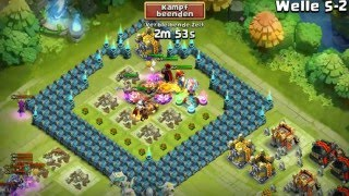 getlinkyoutube.com-Schloss Konflikt/castle clash - HBM / Welle S / Wave S mit Ragnar