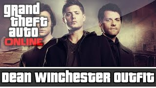 getlinkyoutube.com-GTA 5 Online - Supernatural Dean Winchester Outfit and Customization